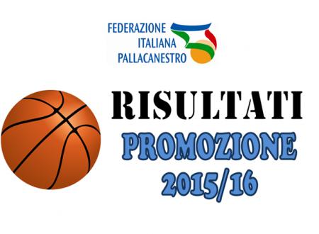 PROMO – Risultati 5° giornata d'andata 2015/16